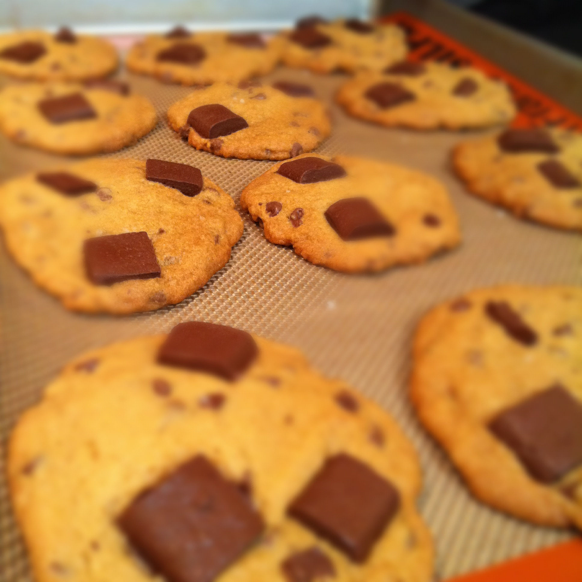 salted caramel chocolate chunk cookies. | The Dough Will ...