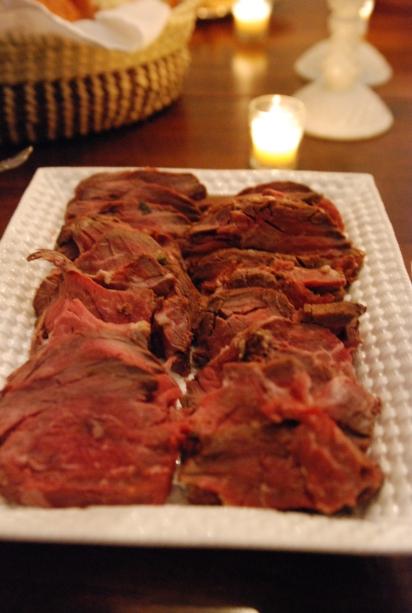 dbra's beef tenderloin.