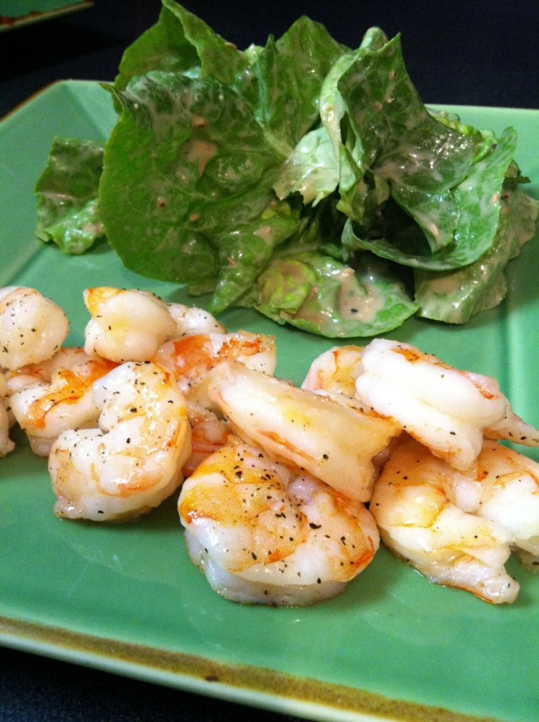 ina's roasted shrimp cocktail.