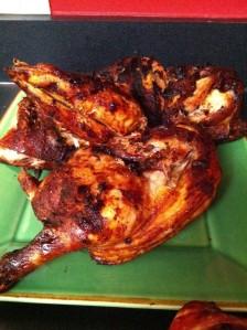 matt's grilled chicken halves