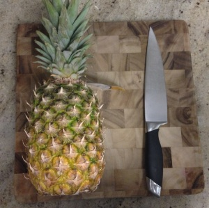 How to break down a pineapple
