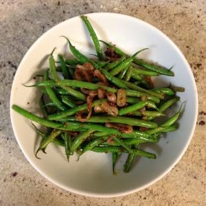 Haricot Verts with Whole Grain Mustard Vinaigrette
