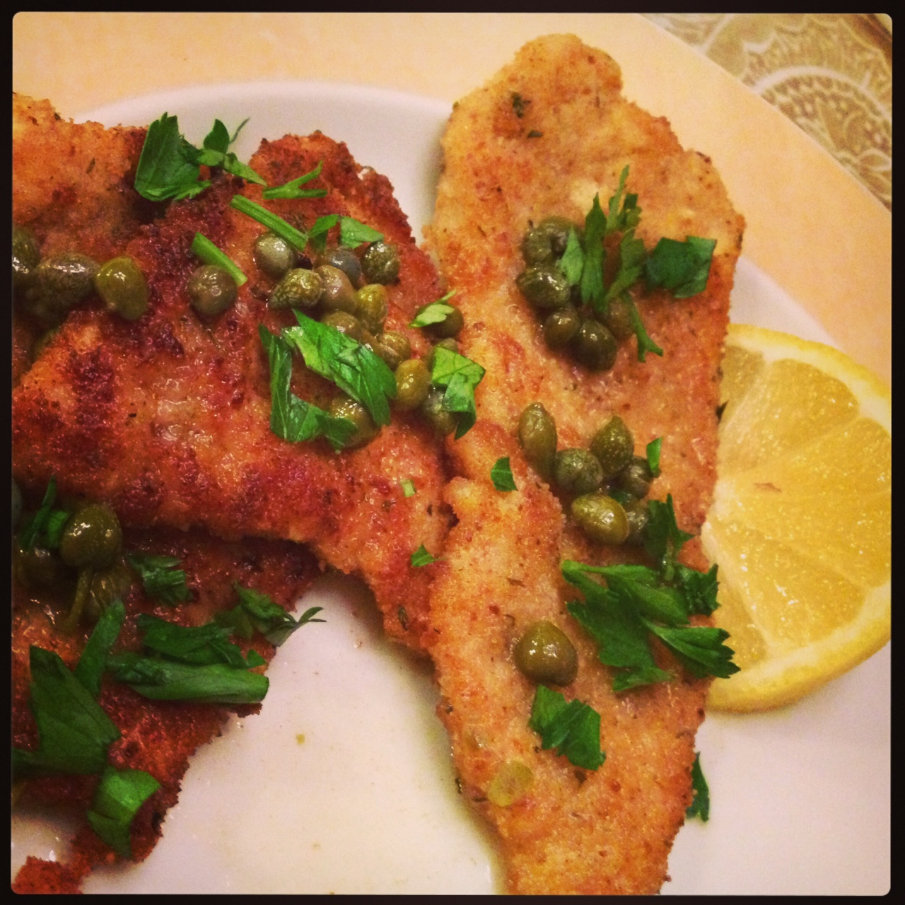 how to make a chicken piccata