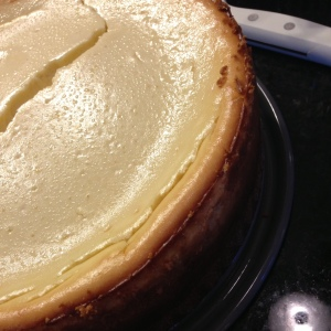 Classic Cheesecake with a Ginger Snap Crust