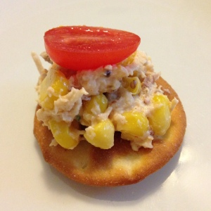 Bacon, Corn and Tomato Chicken Salad