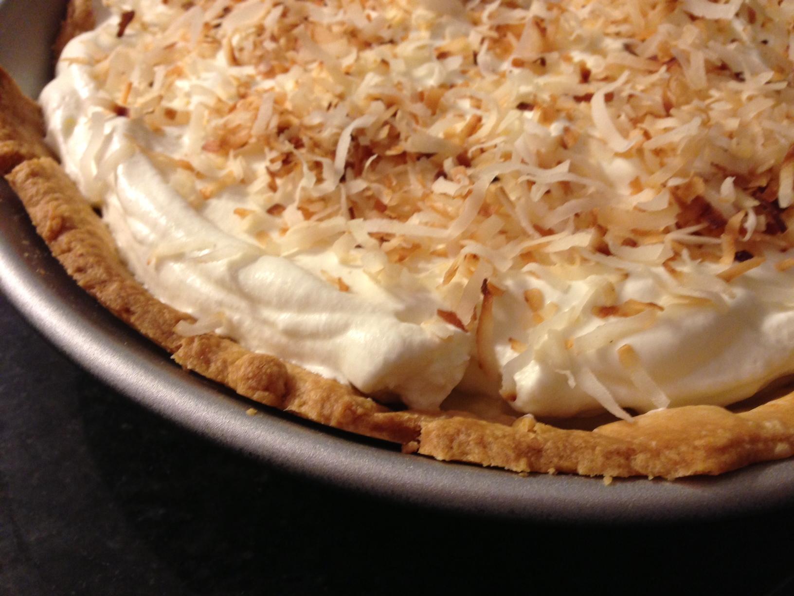 Coconut Cream Pie | The Dough Will Rise Again