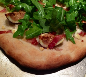 Fig, Prosciutto, and Arugula Flatbread