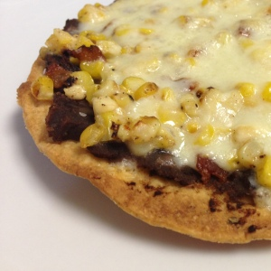 Black Bean and Spicy Corn Tostadas