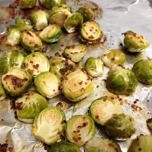 Maple Mustard Brussels Sprouts