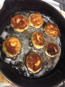 Fried Goat Cheese Rounds