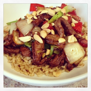 Ginger and Garlic Stir-Fried Beef