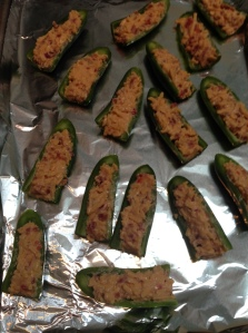 Pimento Cheese and Bacon Jalapeño Poppers