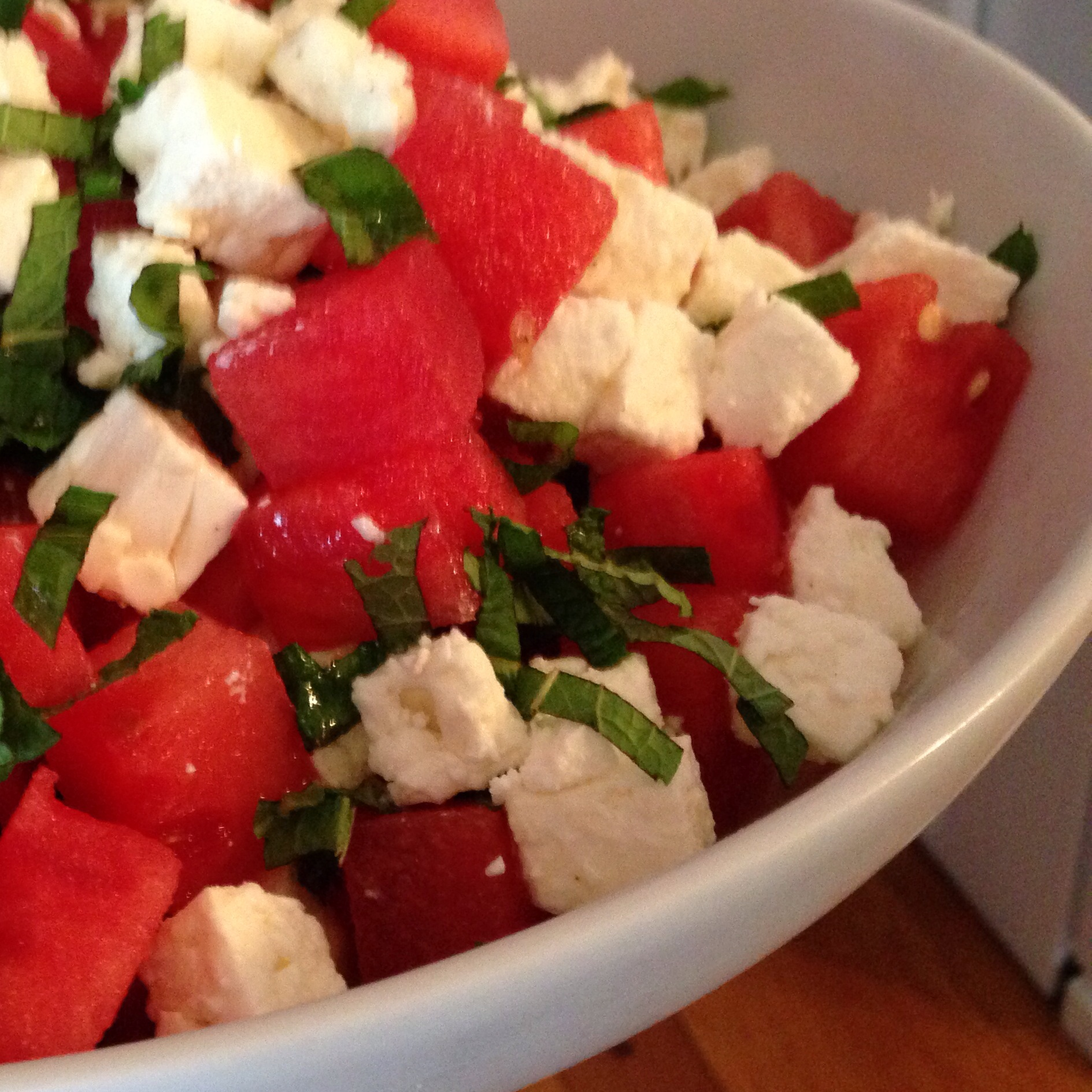 Mint premii bet at home mobilna free-bet z bet at home and Watermelon Salad with Feta Cheese