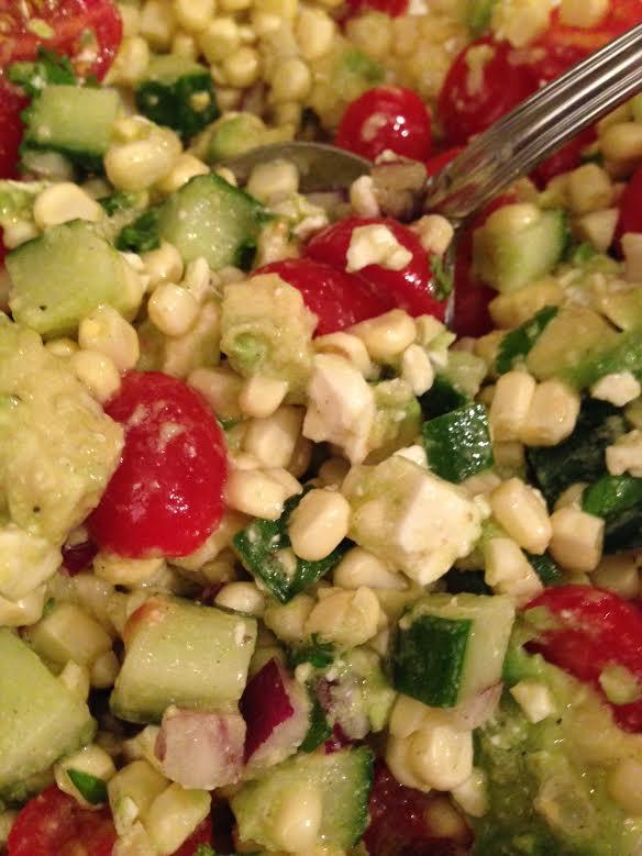 summer salad.