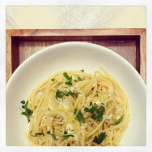 Crab and Artichoke Spaghetti with Lemon Cream Sauce