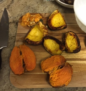 Acorn Squash, Sweet Potato, and Chipotle Mash