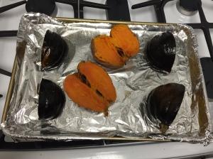 Acorn Squash, Sweet Potato, and Chipotle Mash