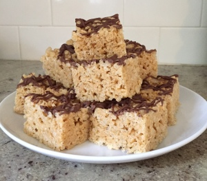 Whatchamacallit Rice Krispie Treats